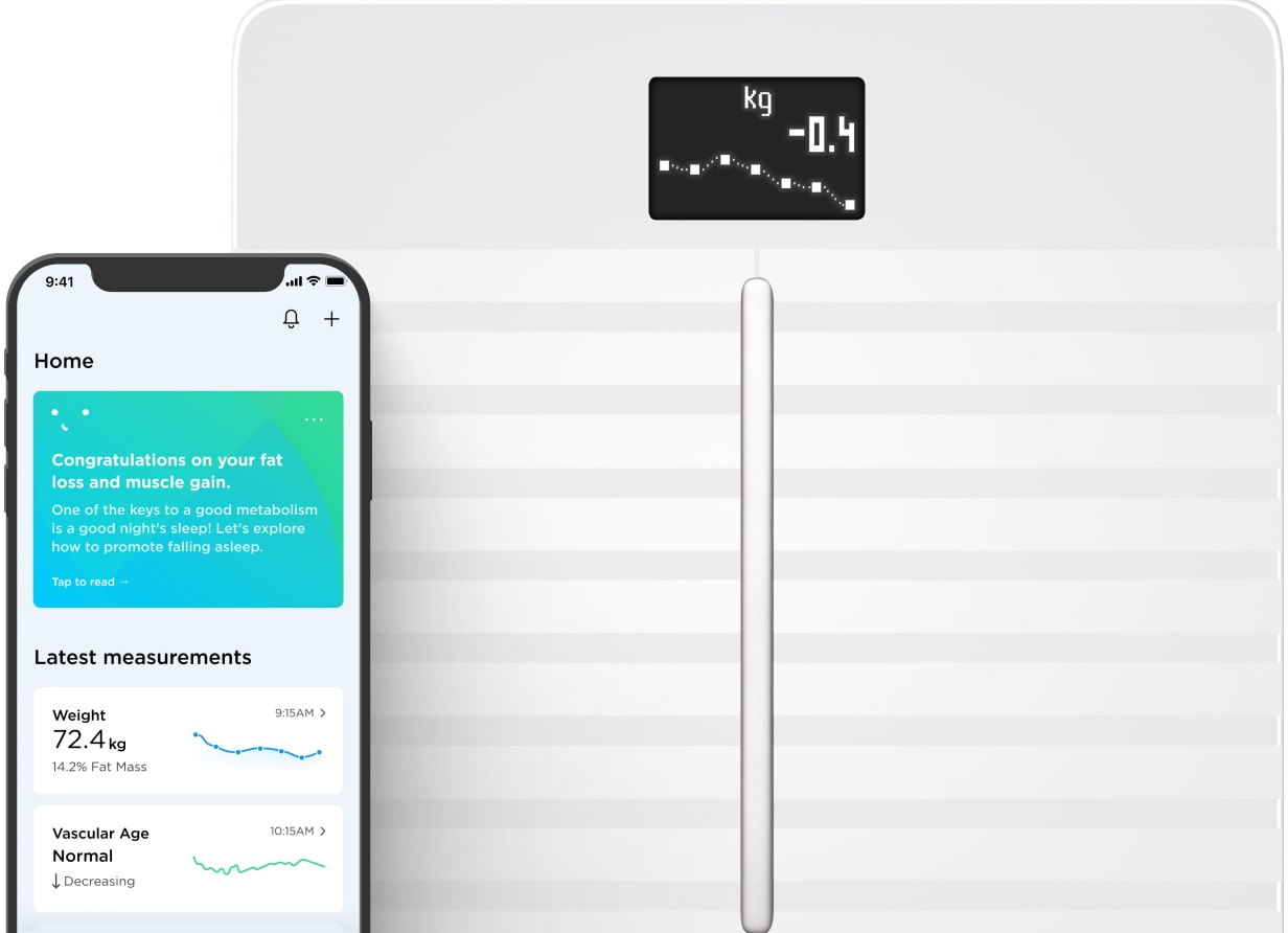 Body Cardio | Wi-Fi Smart Scale with Body Composition & Heart Rate