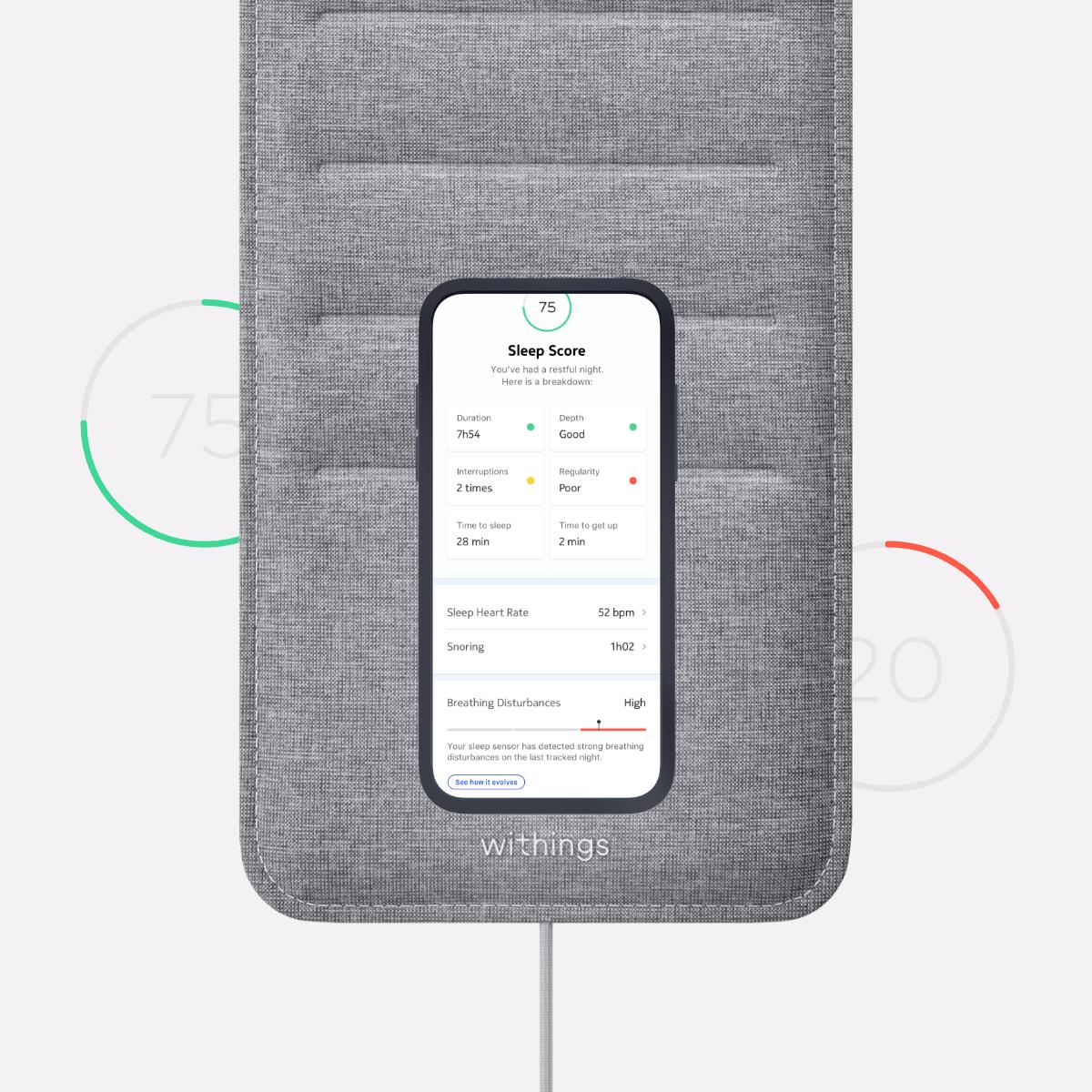 IFTTTと連携できるシート状の睡眠測定器「Sleep」が気になったが、和室に布団には適さない 3